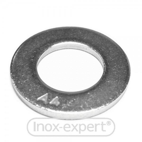 UNTERLEGSCHEIBE DIN125 FORM A 6,4 mm A4
