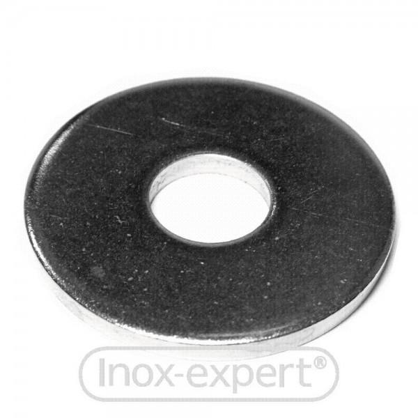 UNTERLEGSCHEIBE BREIT DIN 440 R 17,5 mm A4