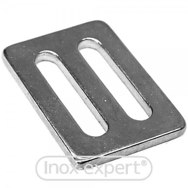 Gurtschnalle Doppel Flach Für Gurt 50 Mm A4 S Haken Ringe