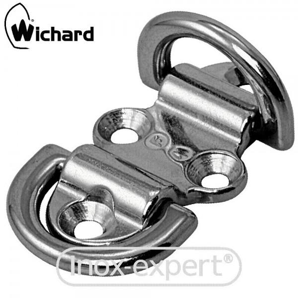 WICHARD® DOPPEL KLAPP-AUGE Ø 6 MM, BL2500 KG, A4 GESCHMIEDET