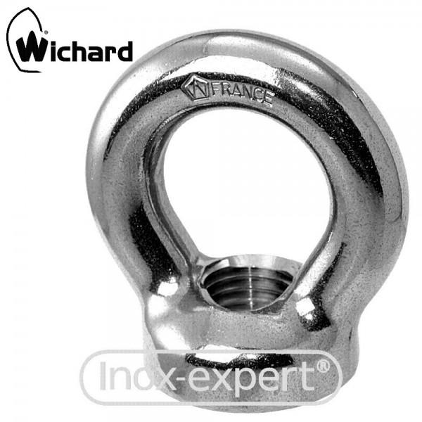 WICHARD® RINGMUTTER M6 X 13 MM, BL 1500 KG, A4 GESCHMIEDET