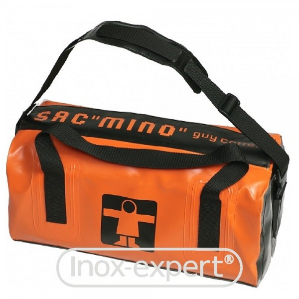 WASSERDICHTE TASCHE MINO - GUY COTTEN - ORANGE, 40 L
