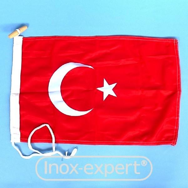 BOOTSFAHNE TURKEI 20X30 CM